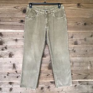 Vintage Patagonia Organic Cotton Corduroy Pants 32